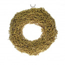 Wreath Canella, diameter 38cm, gold